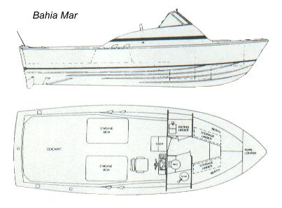 Bahia Mar Layout