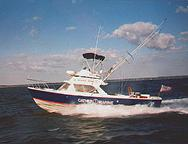 1972 Bertram 31 owned by Don Cather at Coltons Point, MD