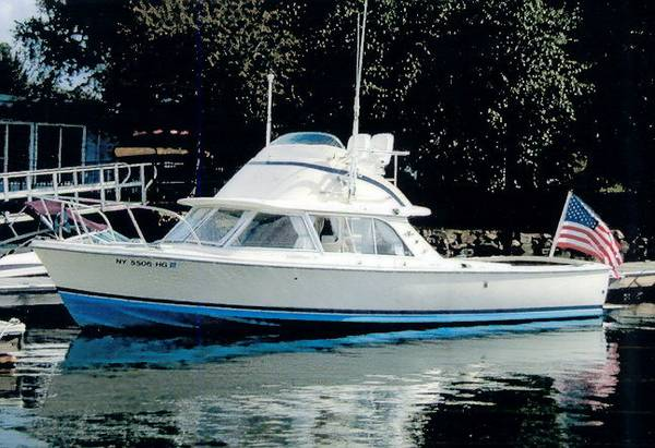 photo of 31' Bertram Flybridge Sport Fisherman